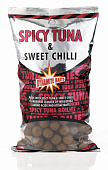 Бойлы тонущие Dynamite Baits  Spicy Tuna & Sweet Chilli 15мм 1 кг (Тунец и перец чили)